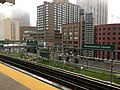 View from platform at Renaissance Center People Mover station.jpg