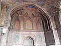 View of arch in the main prayer hall of Wazir Khan Mosque.jpg