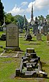 View to Macclesfield Cemetery chapel from west end of crematorium.jpg