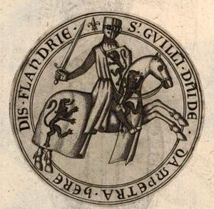 William II, Count of Flanders - William's seal