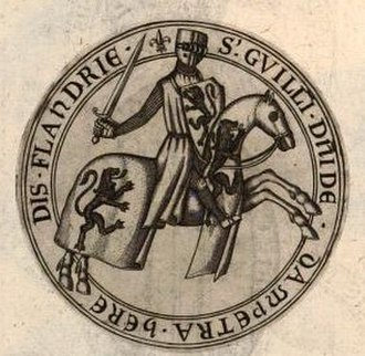William II, Count of Flanders - William's seal