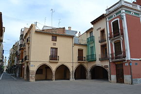 Villarreal, Vila Square and Sant Jaume Street