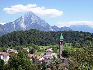Verzegnis Comune in Friuli-Venezia Giulia, Italy