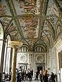 Villa farnesina, loggia di psiche 01.JPG