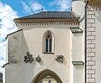 Villach Maria Gail Wallfahrtskirche Zu Unserer Lieben Frau Vorhalle S-Wand mit Steinreliefs 17062020 9198.jpg