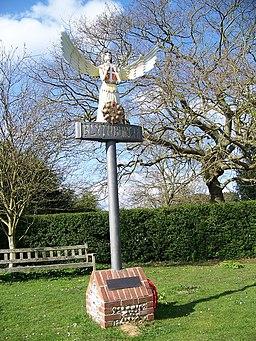 Village sign, Blythburgh - geograph.org.uk - 775916