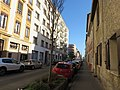 Villeurbanne - Rue Dedieu direction est (janv 2019).jpg