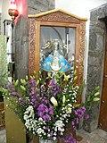 Virgen María, parroquia Santa Cruz Acalpixca, Xochimilco, México.JPG