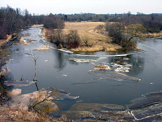 The river Virvycia at Pavirvyte village