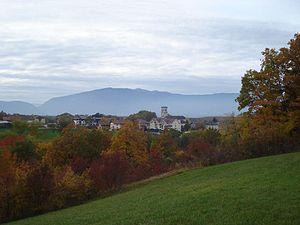 Viry, Haute-Savoie - A general view of Viry