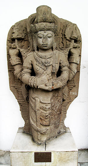 Kediri Kingdom -  Statue of Vishnu. Kediri, East Java, circa 12th–13th century