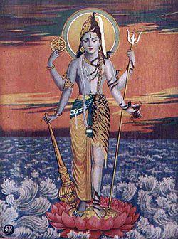 "Vishnu and Shiva in a combined form, as ""Hari-hara,"".jpg"