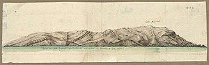 Cap Spartel - Cape Spartel in 1732.