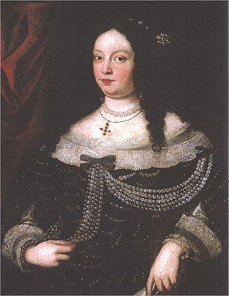 Francesco I d'Este, Duke of Modena - Vittoria Farnese, Francesco's second wife and sister of her predecessor, Maria