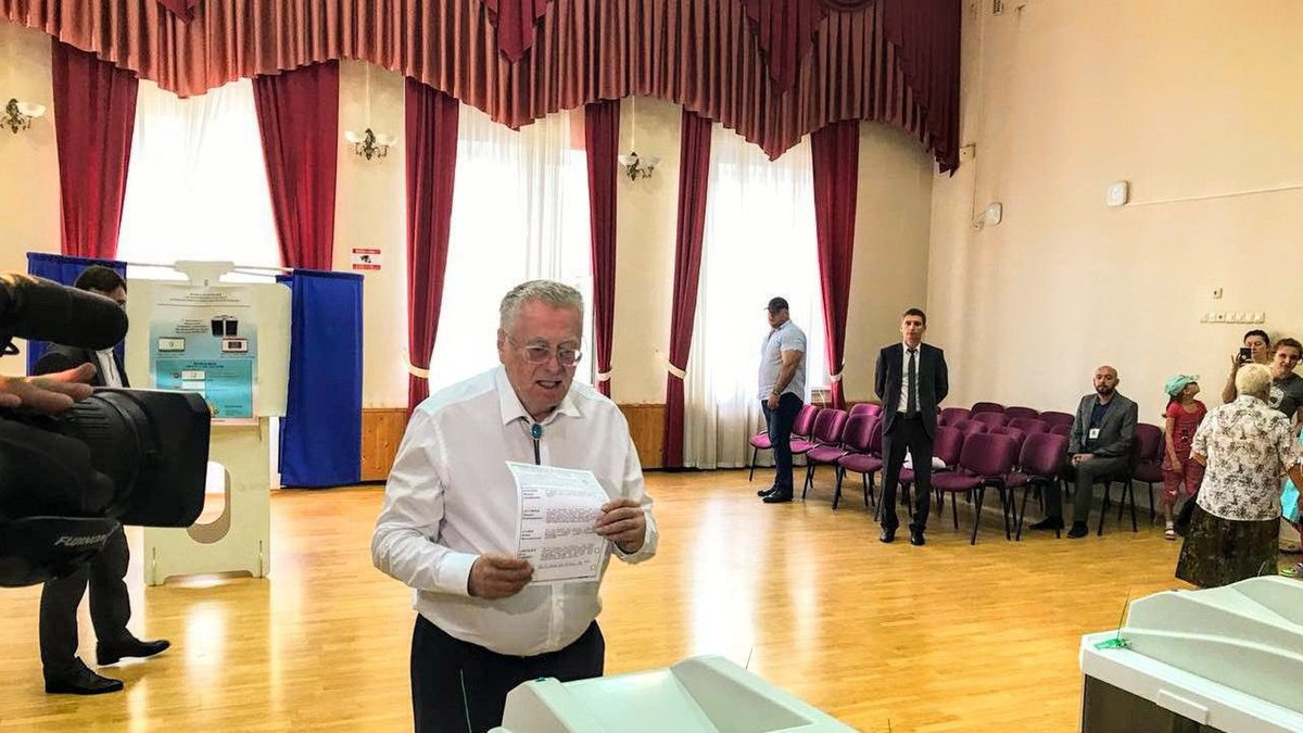 Vladimir Zhirinovsky vote in the Moscow mayoral election (2018-09-09).jpg