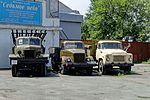 Vladivostok. The historian-mechanic museum Automotoantiquity («Automotostarina»). BM-13, GAZ-51 and GAZ-53 P8090758 2200.jpg