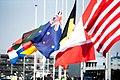 Vlaggen halfstok op Vliegbasis Eindhoven.jpg