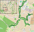 Vlotho - NSG Salze-Glimketal - Map.png