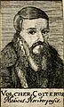 Volcher Coiter. Line engraving, 1688. Wellcome V0001182.jpg