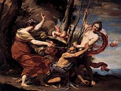 Simon Vouet: Time defeated by love, beauty and hope