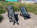 Vrouw in ligstoel - Katwijk aan Zee.jpg