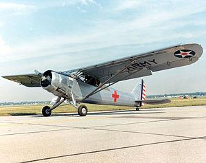 Liaison aircraft - Vultee L-1A
