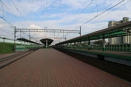 Железнодорожная платформа