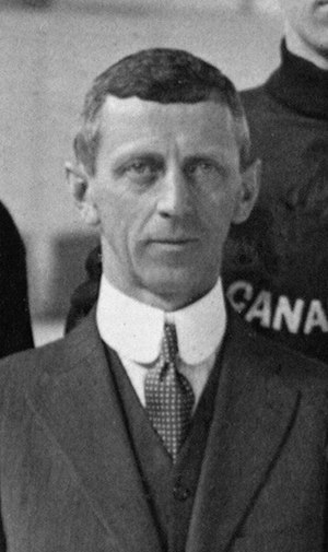 W. A. Hewitt - W. A. Hewitt at the 1920 Olympics.