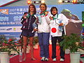 WDSC2007 Day1 Awards Women200Butterfly Winners.jpg