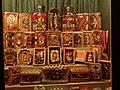 Waidhofen an der Ybbs - volkskundliche Sammlung Piaty - aus Wachs gefertigte Heiligenbildchen.jpg