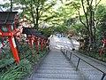 Walkway - Kurama-dera - Kyoto - DSC06701.JPG
