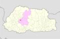 Wangdue Phodrang Gasetshogom Gewog Bhutan location map.png