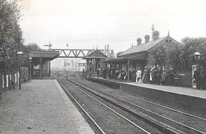 Waratah railway station - The station c.1910