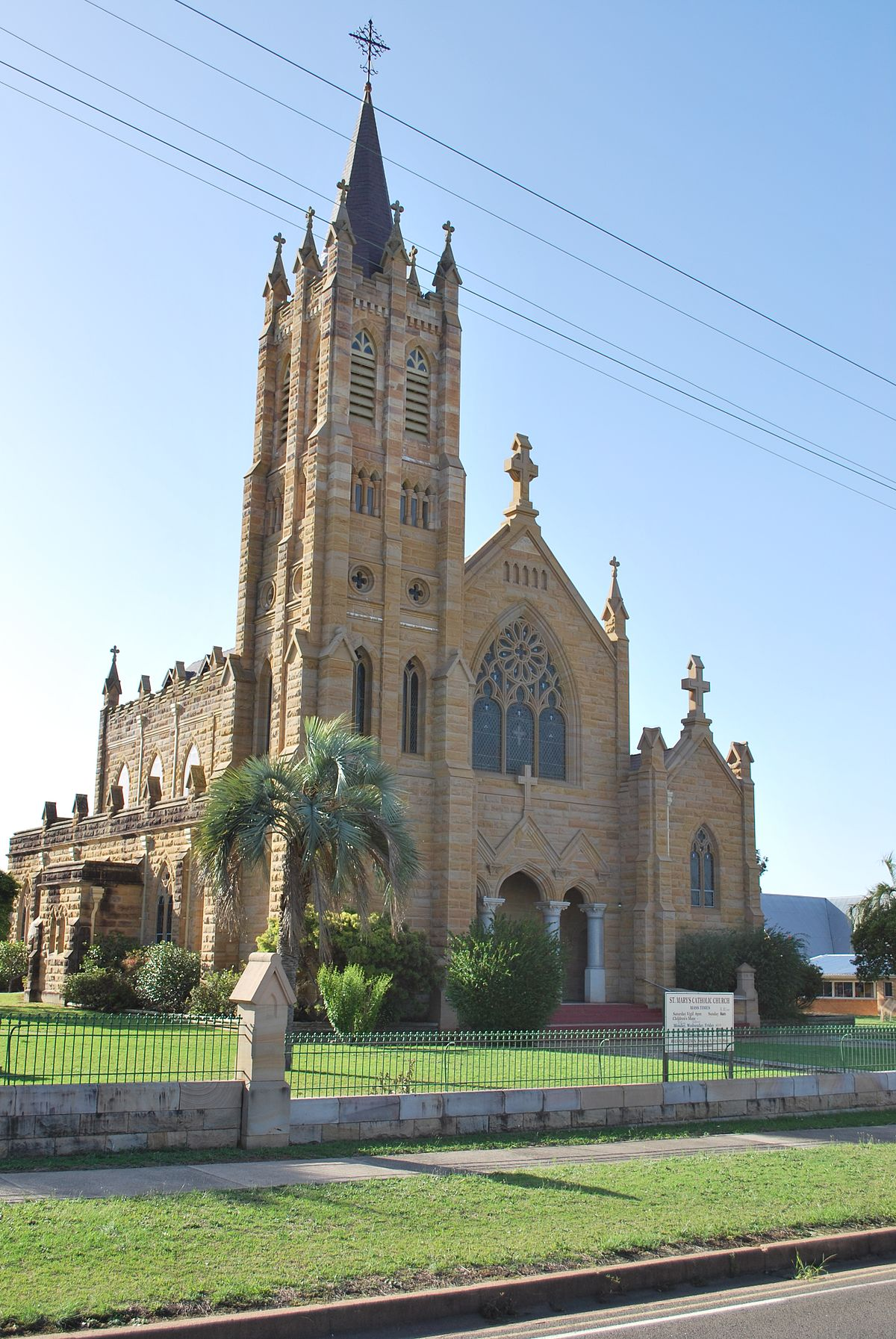 second st mary u0027s roman catholic church warwick wikipedia