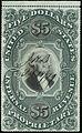 Washington proprietary stamp $5 1873 RB10.jpg