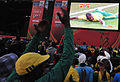 Watching South Africa & France match at World Cup 2010-06-22 in Soweto 15.jpg