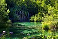 Waterfall and lake Milino.jpg