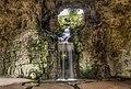 Waterfall in the Grotte, Parc des Buttes-Chaumont, Paris 19e 140427 1.jpg