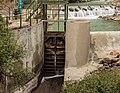 Waterwerken bij centrale Malga Mare. Bergtocht van parkeerplaats bij centrale Malga Mare naar Lago del Careser 02.jpg