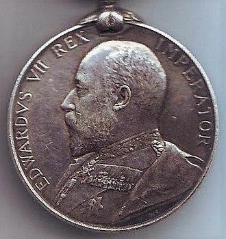India Medal - Image: Waziristan 1901 02 Obverse