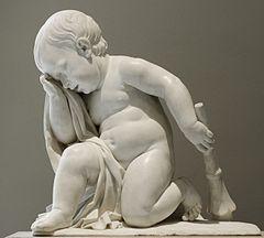Weeping genius Defernex Louvre RF4455
