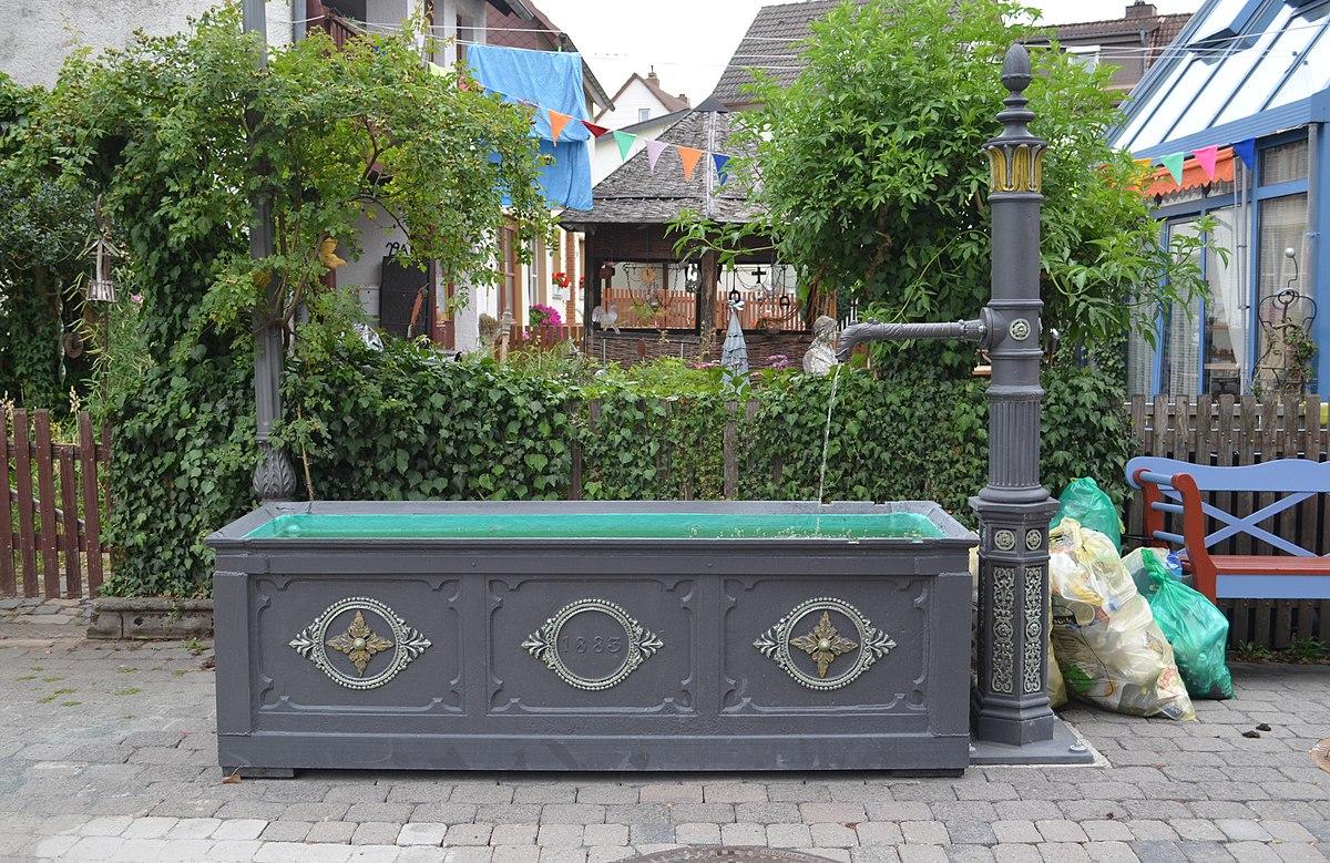 gusseiserner brunnen wehrheim wikipedia. Black Bedroom Furniture Sets. Home Design Ideas