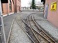 Weiche der Feldbahn im Deutschen Dampflokomotiv-Museum in Neuenmarkt, Oberfranken (14334668113).jpg