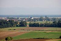 Weikersdorf am Steinfelde Dorf.JPG