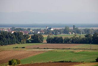 Weikersdorf am Steinfelde - Image: Weikersdorf am Steinfelde Dorf