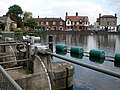 Weir mechanism on the River Great Ouse at Godmanchester - geograph.org.uk - 1022270.jpg