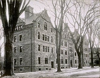 Bruce Price - Welch Hall, Yale University, New Haven, Connecticut (1891).