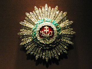 Order of Saint Stephen of Hungary order of knighthood founded by Holy Roman Empress Maria Theresa in 1764