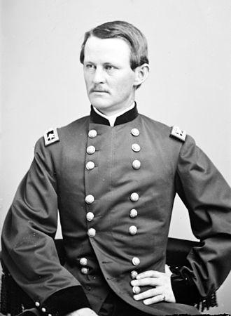 Wesley Merritt - Major General Wesley Merritt. Photograph taken sometime between 1860 and 1870.