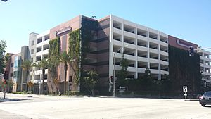 Western University of Health Sciences - The parking structure at E 2nd and S Towne Avenue.